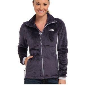 The North Face Fleece Tech Osito Jacket Gray c663